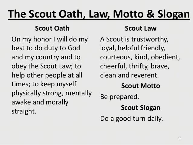 New Scouts Troop 1537 Be Prepared